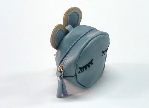 monedero azul bebe